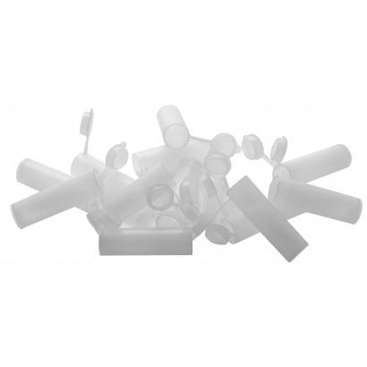 Boîte de 15 dosettes à poudre en plastique